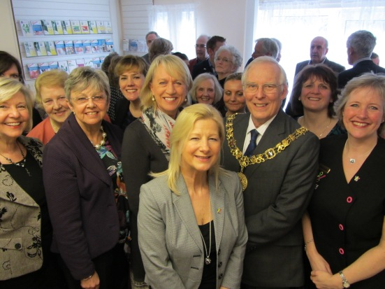 SALLY Taylor from BBC's South Today and the Mayor of Winchester, Cllr Frank Pearson, officially opened a brand new Cancer Support Centre in Winchester
